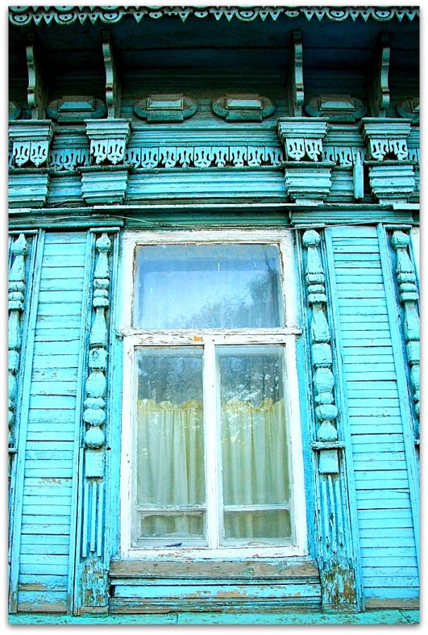 Окна. Резьба. 116