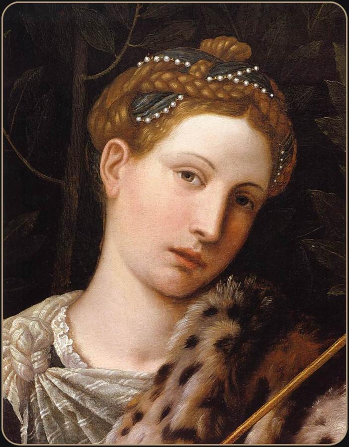 """Moretto_da_Brescia_-_Portrait_of_Tullia_d""""Aragona_as_Salome_(detail)_-_WGA16231"""
