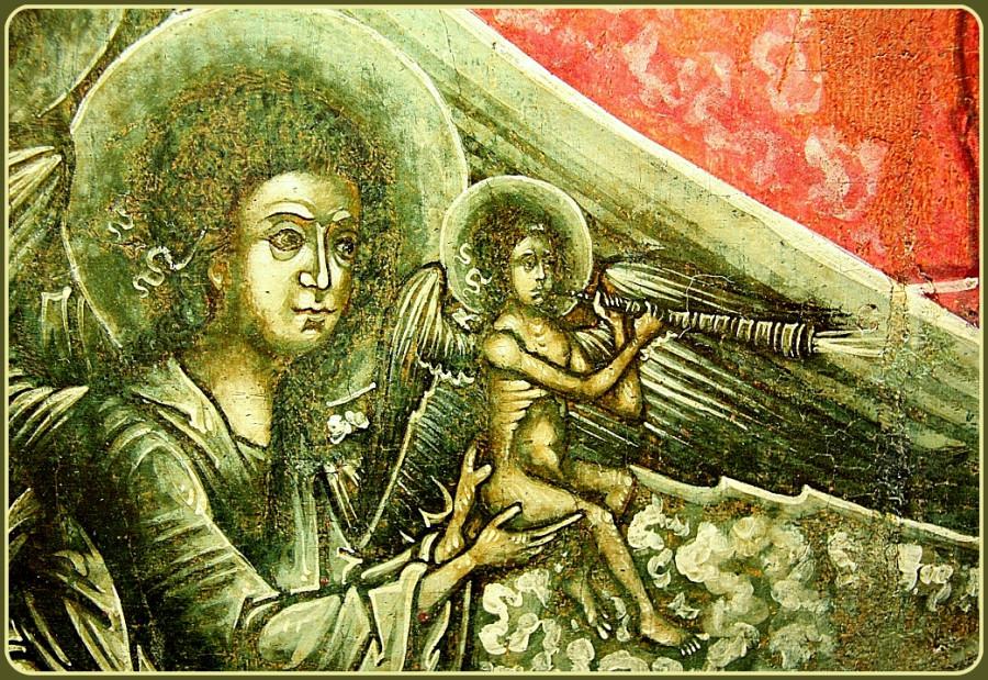 Второстепенные персонажи икон. 019