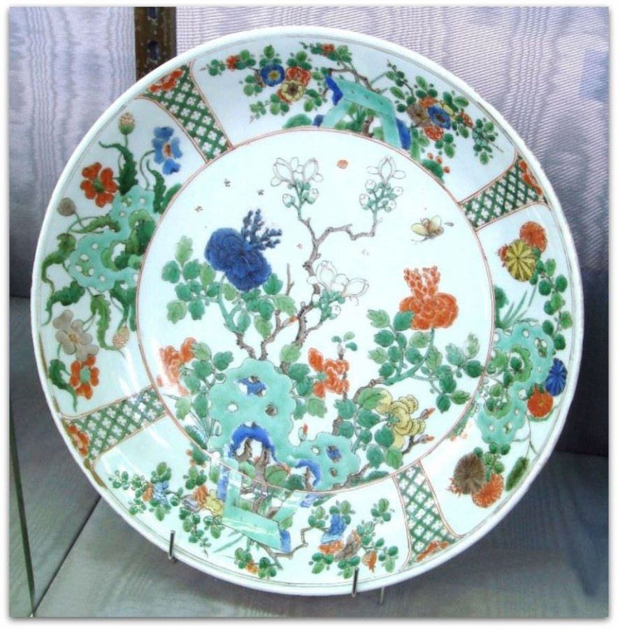 Wucai_plate_for_exportation_Kangxi_period_circa_1680