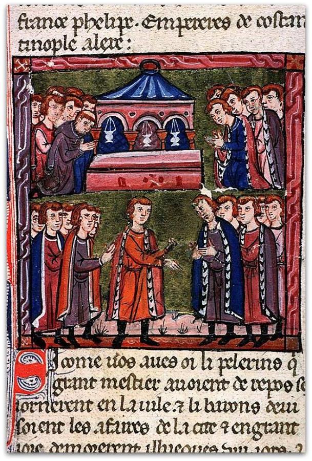 Election_de_Godefroi_de_Bouillon_comme_avoué_du_Saint-Sépulchre_(1099)