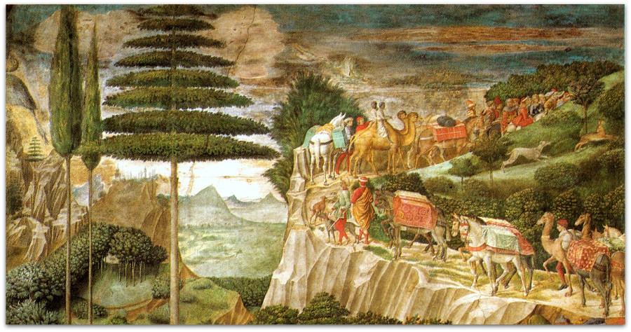Копия Cappella_dei_magi,_corteo_con_giuliano_de'_medici_e_giuseppe_patriarca_di_costantinopoli