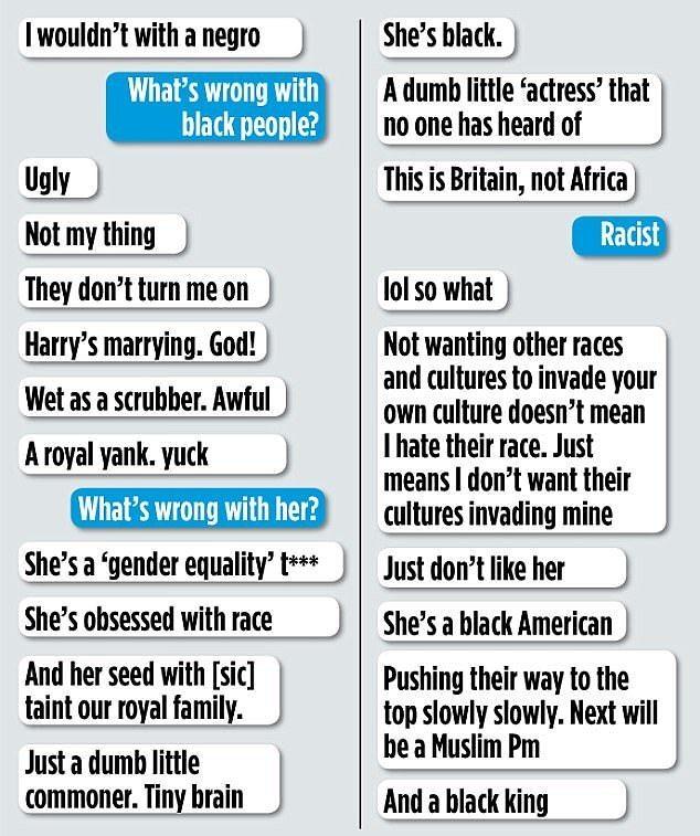 Девушка британского политика позволила себе расистские высказывания в адрес