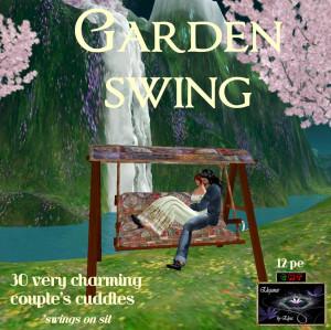 EbE Garden Swing (Mahogany-Celtic) ADc