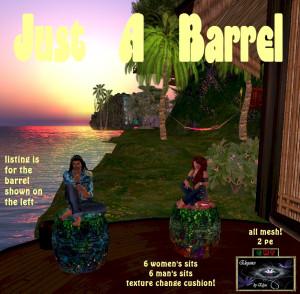 EbE Just a Barrel (fairy magic) ADc
