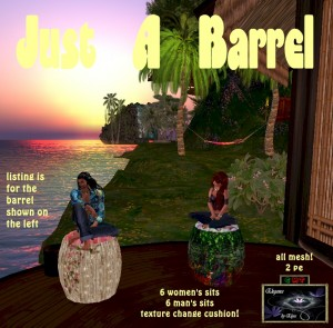 EbE Just a Barrel (shabby wood) ADc