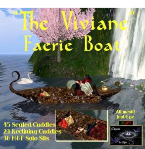 EbE The Viviane Faerie Boat ADc