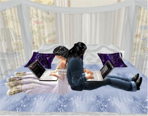 EbE Romantique Bed for Lovers1