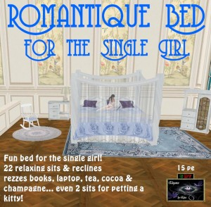 EbE Romantique Bed for the Single Girl ADc