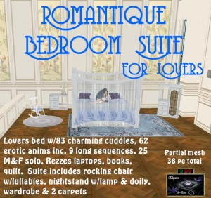 EbE Romantique Bedroom Suite For Lovers ADc