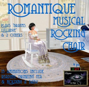 EbE Romantique Rocking Chair AD