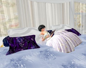 EbE Romantique Bed for the Single Girl1