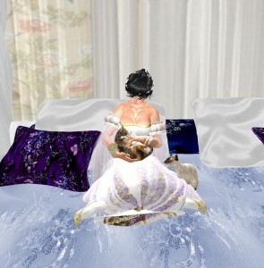 EbE Romantique Bed for the Single Girl2