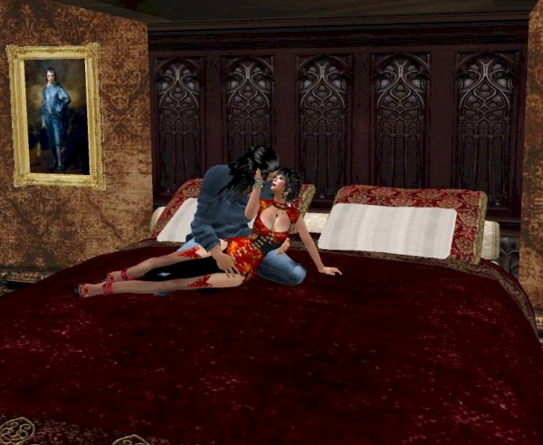 EbE Antique Tester Bed For Lovers3
