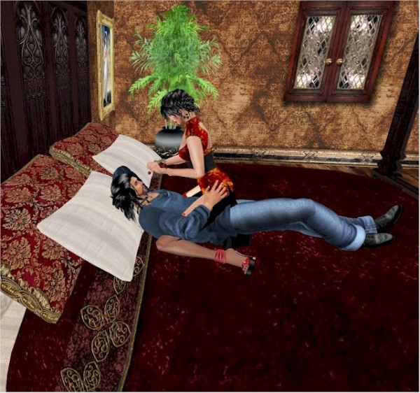EbE Antique Tester Bed For Lovers4