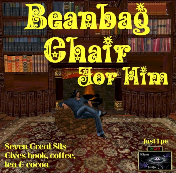 Ebe Beanbag Chair For Him (rich copper) ADc
