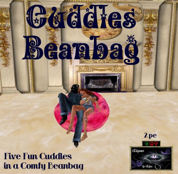 EbE Cuddles Beanbag (celtic pink) ADc