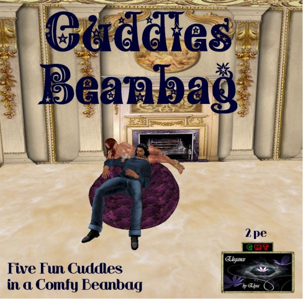 EbE Cuddles Beanbag (rich plum) ADc