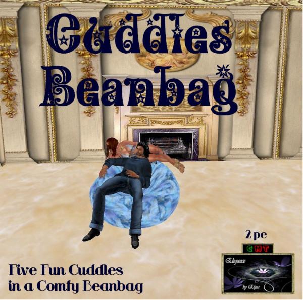 EbE Cuddles Beanbag (sky blue) ADc
