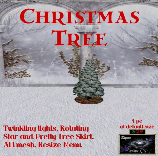 EbE Christmas Tree Twinkling (Nordic snowy) ADc