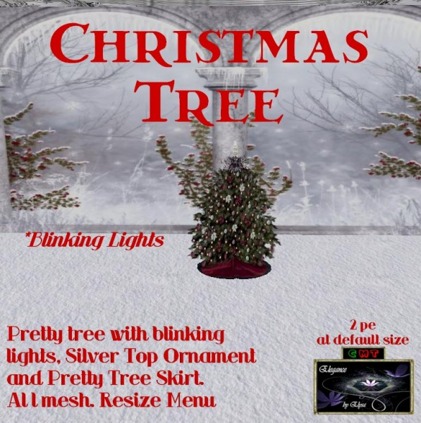EbE Christmas Tree Blinking (rose twinkles) ADc