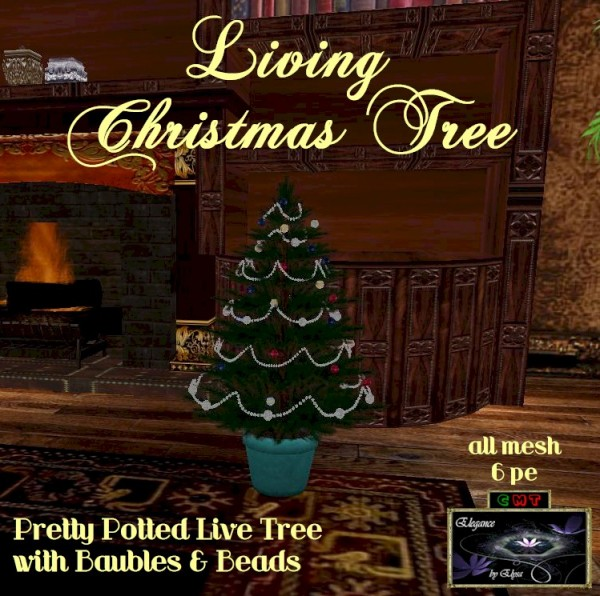 EbE Living Christmas Tree (baubles n beads) ADc