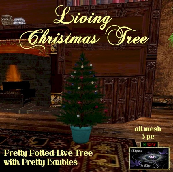 EbE Living Christmas Tree (baubles) ADc