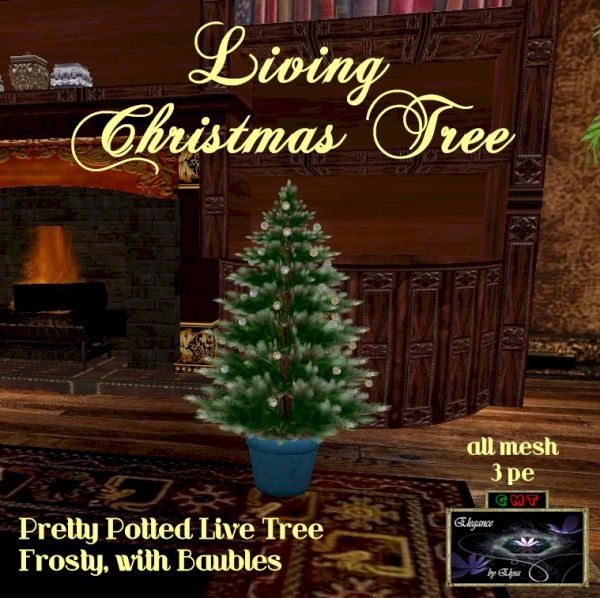 EbE Living Christmas Tree (frosty-baubles) ADc
