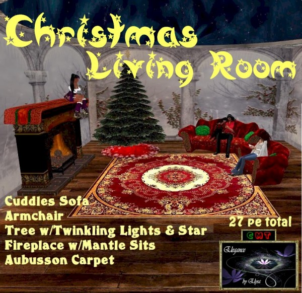 EbE Christmas Living Room (stars) ADc