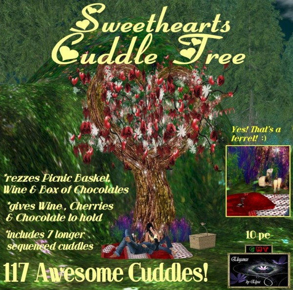 EbE Sweethearts Cuddle Tree ADc