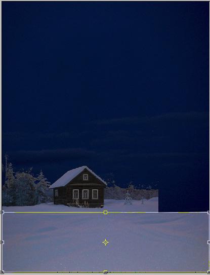 Коллаж зима