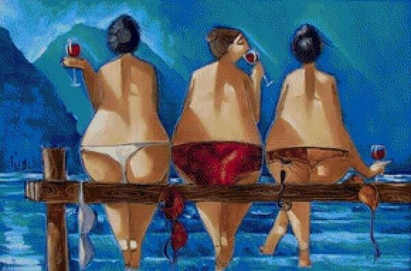 Рональд Вест картины