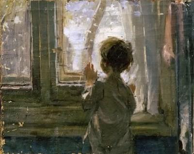 Картина у окна Тутунов