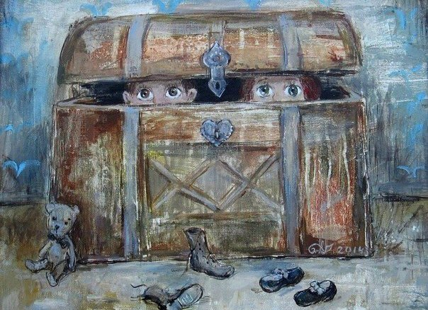 Картины грузинской художницы Нино