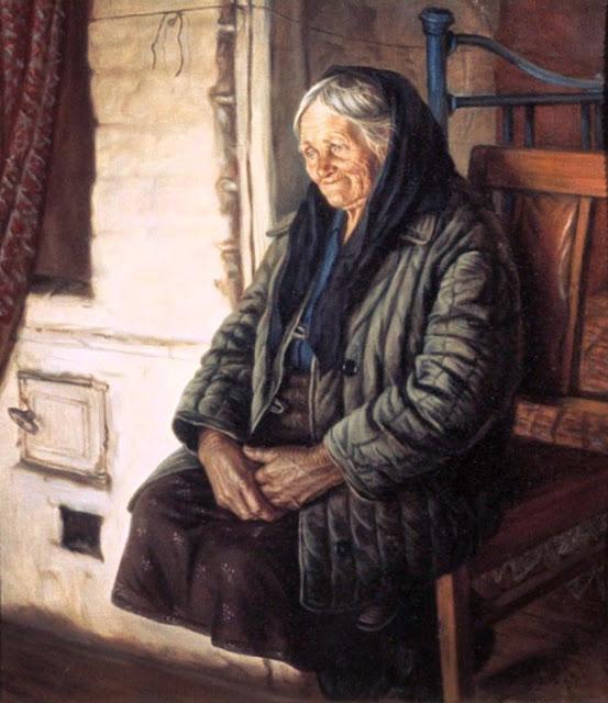 Шилов портрет старушки