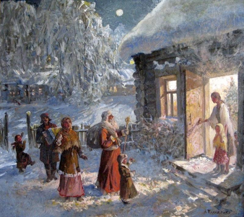 Терещенко Валентин Степанович (род. 1941). Сочельник.