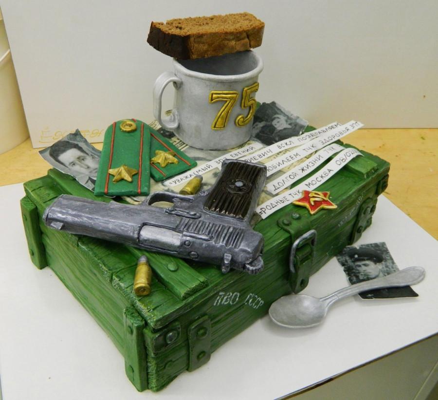 Торт на военную тематику фото