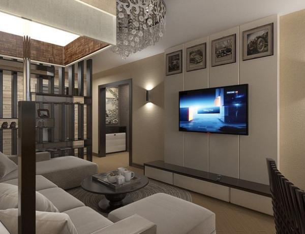 Дизайн интерьера квартиры 45 кв м