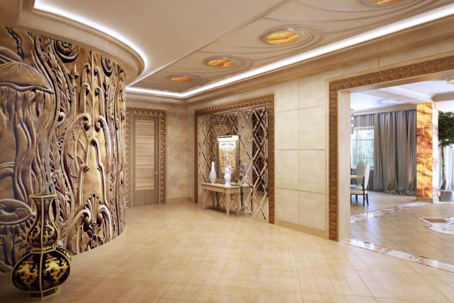 дизайн интерьера холла3