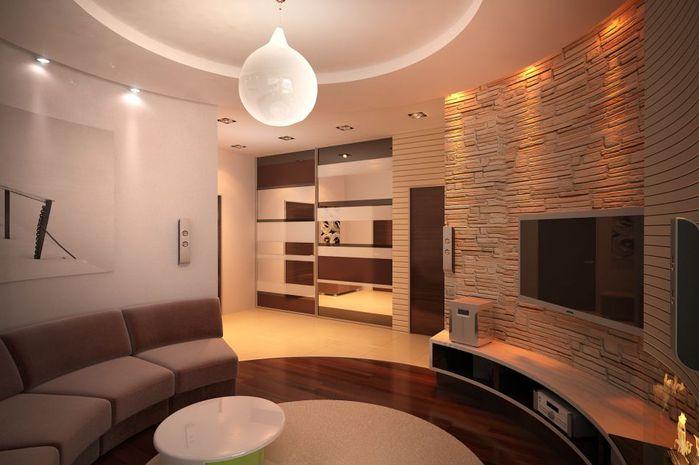 Дизайн интерьера гостиной2
