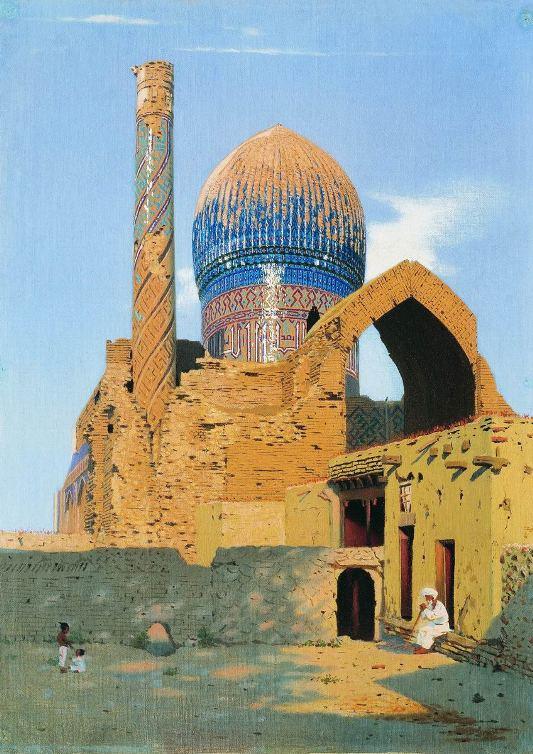 0-Верещагин-мавзолей Гур-Эмир-1869