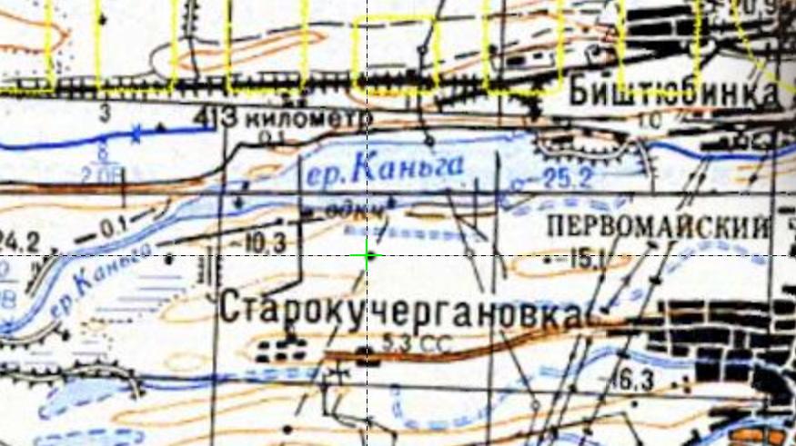 Каньга - карта Астрахань и её окрестности 1984.jpg
