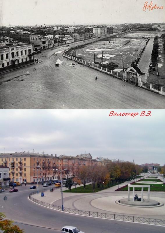 Вид на пл.Ленина с восточной стороны