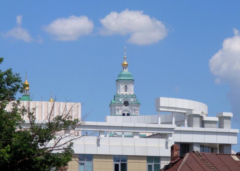 Колокольня астраханского кремля