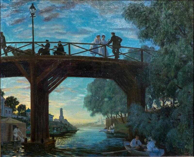 Кустодиев Мост