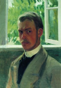 Б.Кустодиев-Автопортрет-1899