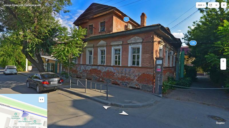 Дом Перфильева, середина 19 в, Красная наб.52