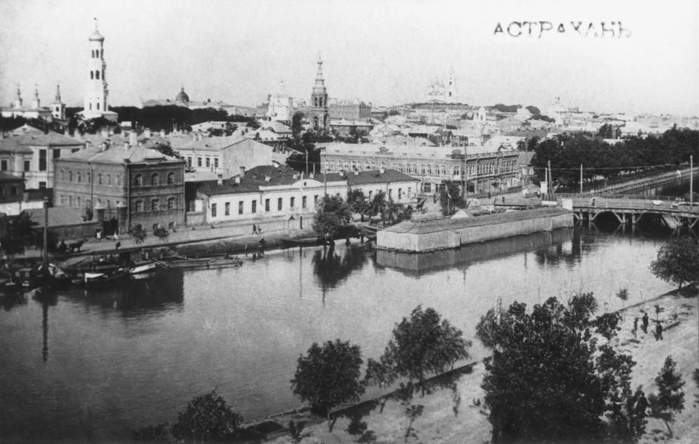 Вид на город со стороны Кутума-1910-е