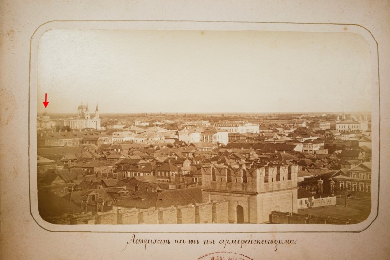 Астрахань на юг из Архиерейского дома