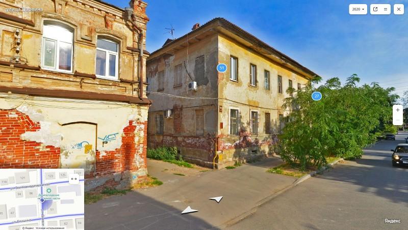 Здания пожарной части на Калустовской, каланча